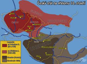 Český stát na přelomu 10. století
