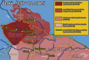Český stát v 15. století