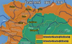 České země v rámci Rakouska(-Uherska)