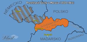 Protektorát Čechy a Morava 1939-1945