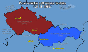 Rozpad Československa