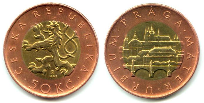 Чешская крона к рублю в праге