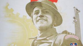 Britsko-československý válečný plakát