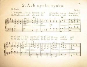 Z Perličky pro malé pianisty (první republika)