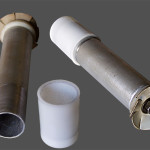 Pouzdro potrubní pošty. Zdroj: Wikipedia