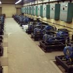 Strojovna s dmychadly. Zdroj: Wikipedia