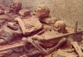 Mumie kapucínských mnichů v Brně