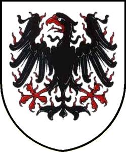 Svatováclavská plamínková orlice (tato pochází ze znaku města Stochov)