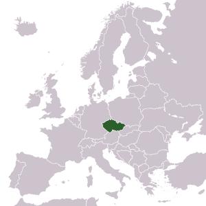 ČR v Evropě, zdroj: Wikipedia