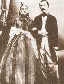 Jakub Kryštof Rad s manželkou