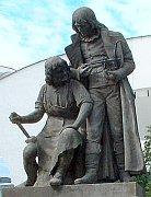 Bratranci Veverkovi (socha v Bohdanči)