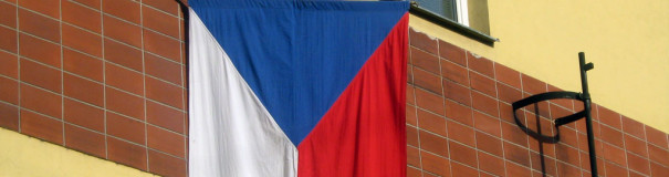 Vlajka na domě