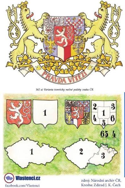 Teoretický velký státní znak ČR